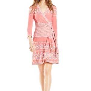 BCBG Adele Jersey Wrap Dress